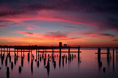 Photograph - Sunset Beach by All Rights Reserved By Josh Reppel