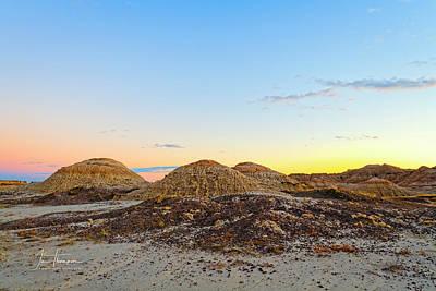 Photograph - Sunset Beginning by Jim Thompson