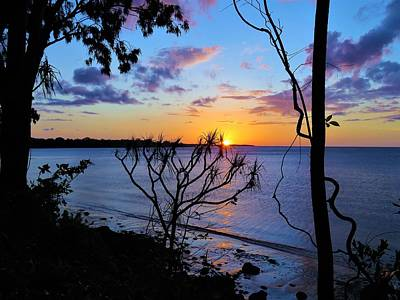 Photograph - Sunset Blue by Joan Stratton