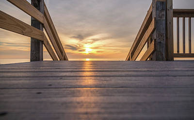 Photograph - Sunset Boards by Kristopher Schoenleber