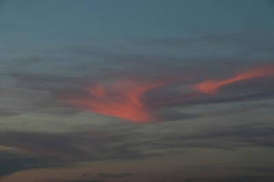 Photograph - Sunset Clouds by Mitch Diamond