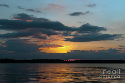 Photograph - Sunset Costal Sky by Dale Powell