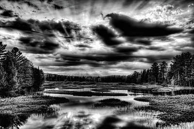 Photograph - Sunset Drama by David Patterson