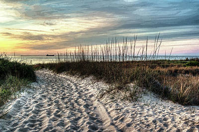 Photograph - Sunset Dunes by Pete Federico