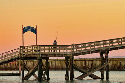 Photograph - Sunset Fishing by Lost River Photography