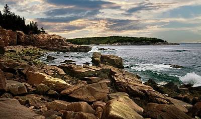 Photograph - Sunset In Acadia by Paul Mangold