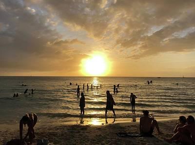 Sunset In Boracay Island Original