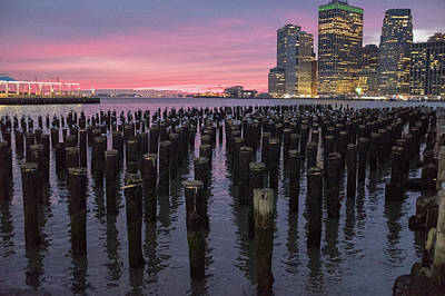 Photograph - Sunset In Brooklyn Park by Doug Ash