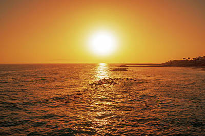 Photograph - Sunset In Costa Adeje by Sun Travels
