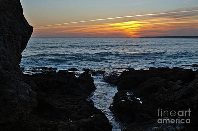 Photograph - Sunset In Gale Beach. Coast Of Algarve by Angelo DeVal