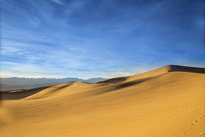 Photograph - Sunset In Mesquite Dunes by Kunal Mehra