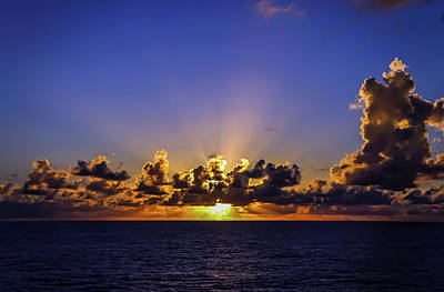 Photograph - Sunset In The Bahamas by Dawn Richards