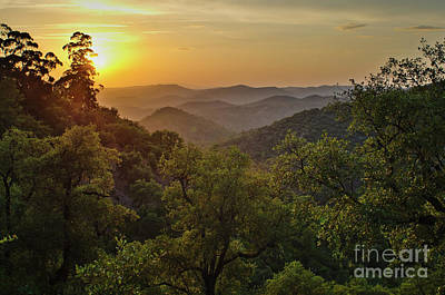 Photograph - Sunset In The Mountains Of Loule by Angelo DeVal