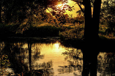 Photograph - Sunset In The Spreewald by Sun Travels