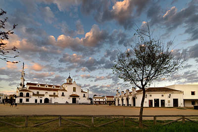Photograph - Sunset In The Village Of El Rocio. by RicardMN Photography