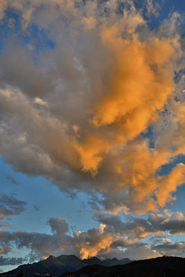 Photograph - Sunset Intensifies Over Ridgway Colorado by Ray Mathis