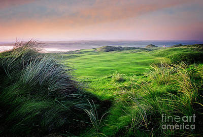 Art Print featuring the photograph Sunset - Lahinch by Scott Kemper