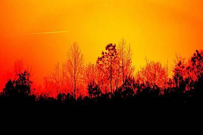 Photograph - Sunset Landscape by Cynthia Guinn