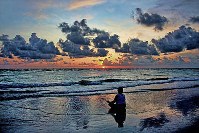 Photograph - Sunset Meditation by HH Photography of Florida