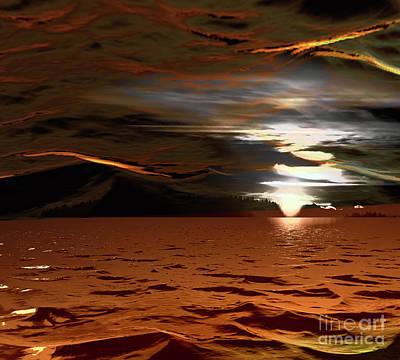 Photograph - Sunset Mystery by Elaine Hunter