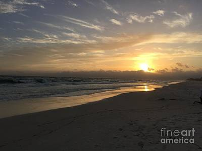 Sunset On 30a Art Print