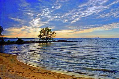 Photograph - Sunset On Lake Ontario by Bill Jonscher