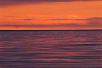 Photograph - Sunset On Lake Superior In Old Woman by Andrew Mclachlan
