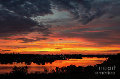 Photograph - Sunset On Mainstee Lake by Sue Smith