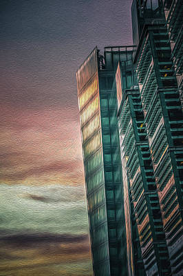 Photograph - Sunset On Snowhill Portrait by Chris Fletcher