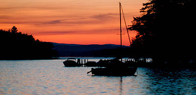 Photograph - Sunset On The Lake by Paul Mangold
