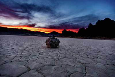 Photograph - Sunset on the Playa by Dixon Pictures