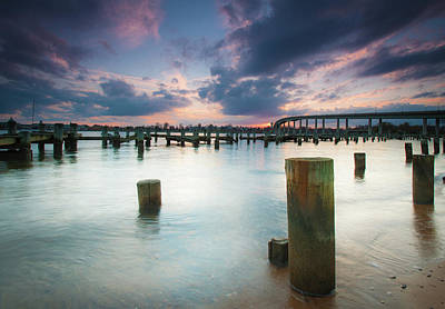 Photograph - Sunset On The Severn River by Mark Duehmig