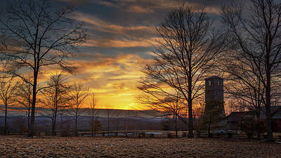 Photograph - Sunset On The Watch Tower by Mike Mcquade