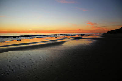 Sunset Over Avalon Art Print by Robin Street-Morris