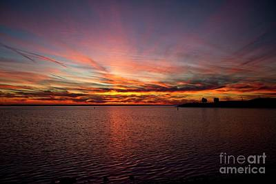 Photograph - Sunset Over Canada by Jim Lepard