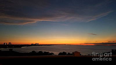 Photograph - Sunset Over Choctawatchee Bay by TK Goforth