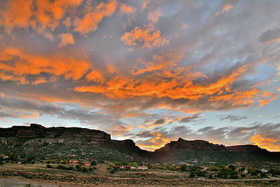 Photograph - Sunset Over Colorado National Monument 3 by Ray Mathis