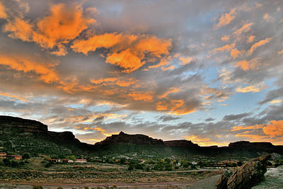 Photograph - Sunset Over Colorado National Monument 4 by Ray Mathis