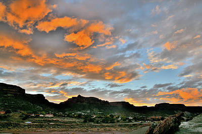Photograph - Sunset Over Colorado National Monument I by Ray Mathis