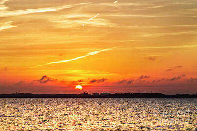 Photograph - Sunset Over Destin by Kay Brewer