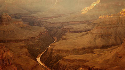 Photograph - Sunset Over Grand Canyon by Roland Shainidze Photogaphy