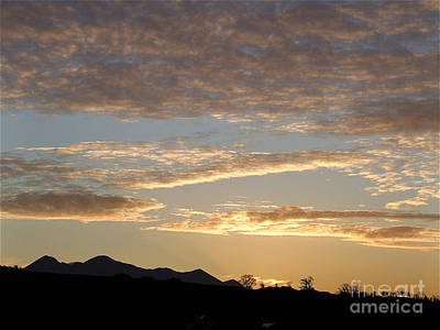 Photograph - Sunset Over MacGillycuddy Reeks by Pauline Christie