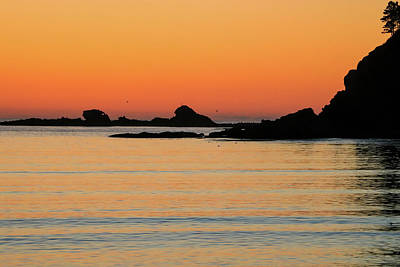 Photograph - Sunset Over Sunset Bay, Oregon 5 by Dawn Richards