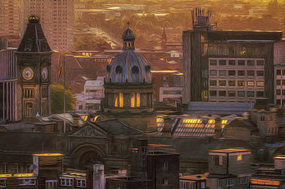 Photograph - Sunset Over The Council House by Chris Fletcher
