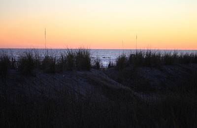 Photograph - Sunset Over The Dunes by Cynthia Guinn