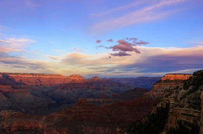 Photograph - Sunset Over The Grand Canyon by Dawn Richards