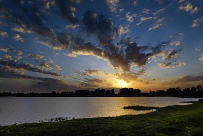 Photograph - Sunset Over The Marsh Of El Rocio by RicardMN Photography