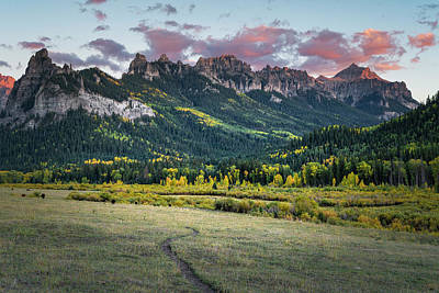 Photograph - Sunset Over Turret Ridge by Richard Raul Photography