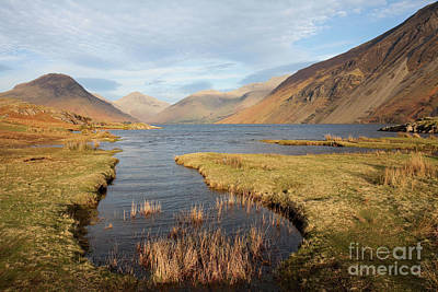 Photograph - Sunset Over Wast Water by Gavin Dronfield
