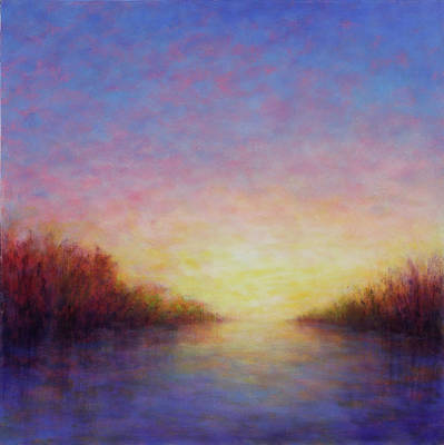 Painting - Sunset Passage by Victoria Veedell
